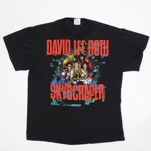 David Lee Roth Skyscraper Tour Single Stich Tee